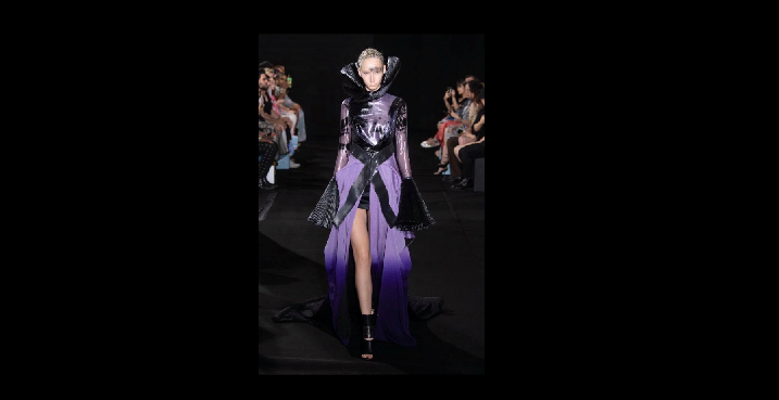 Yumi Katsura Couture Collection に生地採用!